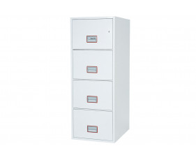 Phoenix World Class Vertical FS2264K Fire File 4 Drawers With Key Lock