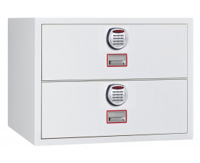 Phoenix World Class Lateral FS2412E Fire File 2 Drawers With Electronic Lock