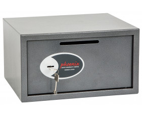 Phoenix Vela Ss0803Kd Deposit Safe With Key Lock (34Ltrs)
