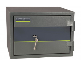 Burton Firesec 4/60 fire safe size 1 with key lock (18ltrs)