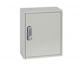 Phoenix KC0501M 24 Hook Deep Plus And Padlock Key Cabinet With Mechanical Combination Lock