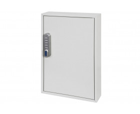Phoenix KC0502E 50 Hook Deep Plus And Padlock Key Cabinet With Electronic Lock