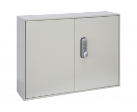 Phoenix KC0501M 100 Hook Deep Plus And Padlock Key Cabinet With Mechanical Combination Lock