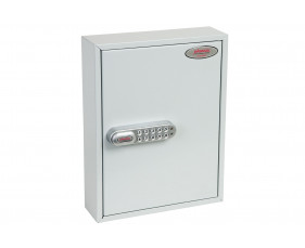 Phoenix KC0601E 42 Hook Key Commercial Key Cabinet With Electronic Lock