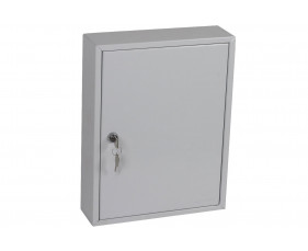 Phoenix KC0601K 42 Hook Key Commercial Key Cabinet With Key Lock