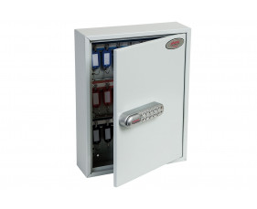 Phoenix KC0601N 42 Hook Key Commercial Key Cabinet With Netcode Electronic Lock
