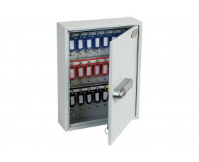 Phoenix KC0601S 42 Hook Key Commercial Key Cabinet With Electronic Push Shut Lock