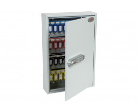 Phoenix KC0602N 64 Hook Key Commercial Key Cabinet With Netcode Electronic Lock