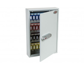 Phoenix KC0602S 64 Hook Key Commercial Key Cabinet With Electronic Push Shut Lock
