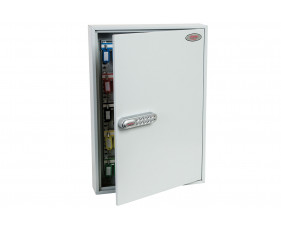 Phoenix KC0603N 100 Hook Key Commercial Key Cabinet With Netcode Electronic Lock