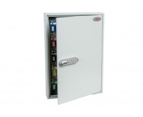 Phoenix KC0603S 100 Hook Key Commercial Key Cabinet With Electronic Push Shut Lock