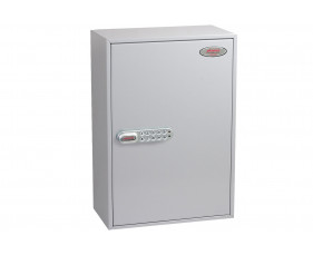 Phoenix KC0604E 200 Hook Key Commercial Key Cabinet With Electronic Lock