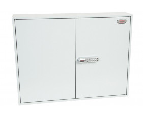 Phoenix KC0606E 400 Hook Key Commercial Key Cabinet With Electronic Lock