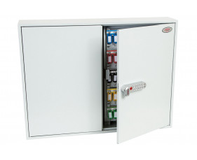 Phoenix KC0606N 400 Hook Key Commercial Key Cabinet With Netcode Electronic Lock