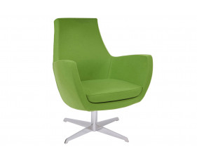 Layla Low Lounge Chair With Swivel Frame