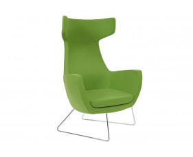 Layla Lounge Chair With Sled Frame