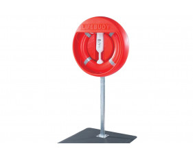 Post Mounted Housing To Fit 750mm Lifebuoy (Surface Mounted)