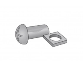 Nesting Nuts & Bolts For Probe Lockers (Pack of 100)