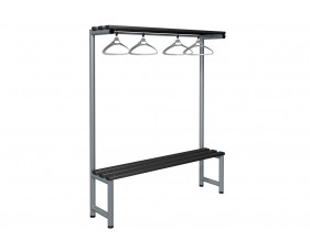 Probe Single Sided Overhead Hanging Bench (Black Polymer)