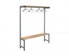 Probe Single Sided Overhead Hanging Bench (Light Ash)