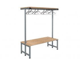 Probe Double Sided Overhead Hanging Bench (Light Ash)