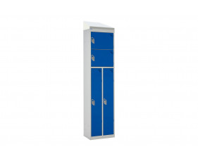 QMP 2 Person Lockers With Sloping Top