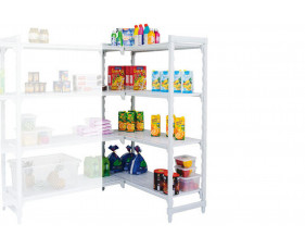 Cambro Catering Shelving With 4 Shelves Add On Bay