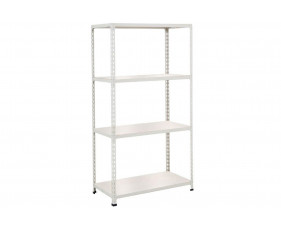 Rapid 2 Shelving With 4 Melamine Shelves 1220wx1600h (Grey)