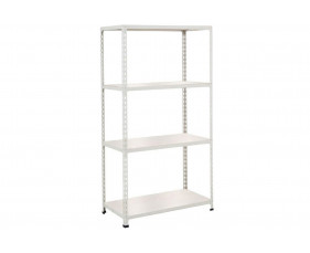 Rapid 2 Shelving With 4 Melamine Shelves 1525wx1600h (Grey)