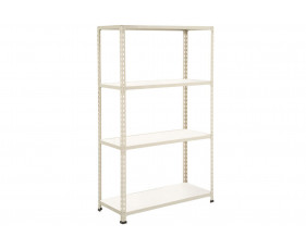 Rapid 2 Shelving With 4 Melamine Shelves 915wx1980h (Grey)