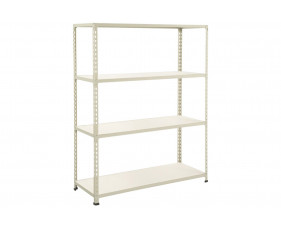 Rapid 2 Shelving With 4 Melamine Shelves 1220wx1980h (Grey)