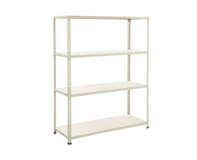 Rapid 2 Shelving With 4 Melamine Shelves 1525wx1980h (Grey)