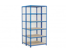 Mesh Cladding For Rapid 2 Shelving Bays