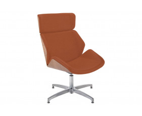Alba Chair With Memory Return Swivel Base & Outer Back