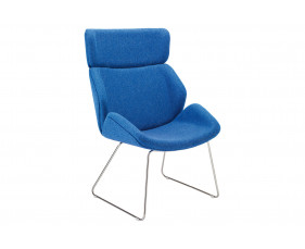 Alba Chair With Sled Frame