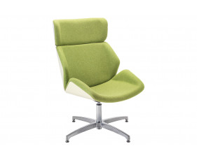 Alba Chair With Swivel Base & Outer Back