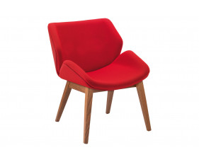 Lockwood Chair With 4 Wooden Legs