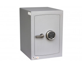Securikey Mini Vault Silver Cash Safe Size 2 With Electronic Lock (67ltrs)