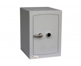 Securikey Mini Vault Silver Cash Safe Size 2 With Key Lock (67ltrs)