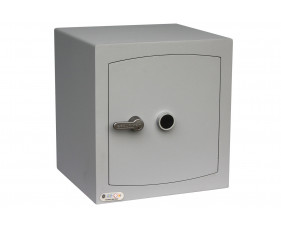 Securikey Mini Vault Silver Cash Safe Size 3 With Key Lock (68ltrs)