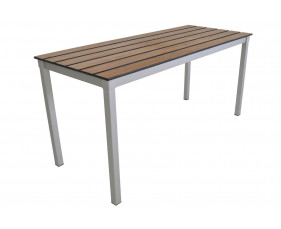Gopak Enviro Compact Outdoor Table With Slatted Top