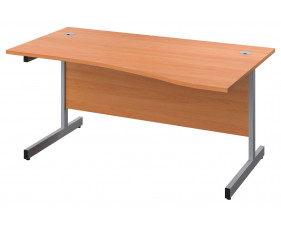 Proteus Right Hand Wave Desk