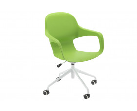 Booth Spider Base Bistro Chair (Green)