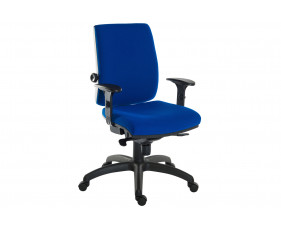 Baron 24HR Ergonomic Operator Chair With Arms (Fabric)