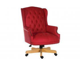 Chairman Swivel Chair Red