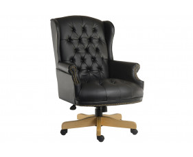 Chairman Swivel Chair Black