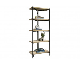 Annex Chunky Industrial 4 Shelf Bookcase