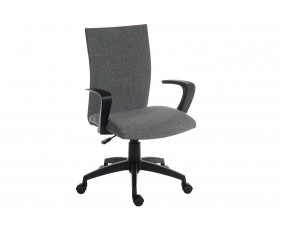 Employ Fabric Executive Office Chair Grey