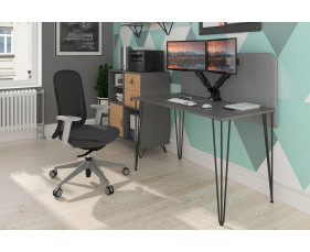 Valentine Rectangular Home Office Desk