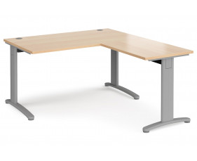 Trinity Single Desk With Return